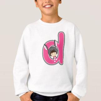 D is for Donkey Girl Sweatshirt