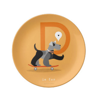 D is for... plate