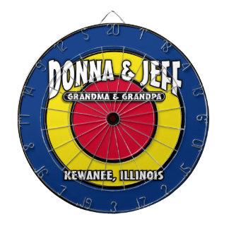 D&J's Dart Board