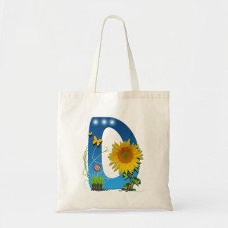 D letter Shopping Bag