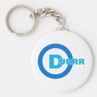 D-logo DURRR Basic Round Button Key Ring