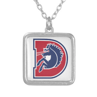 D Logo Custom Necklace