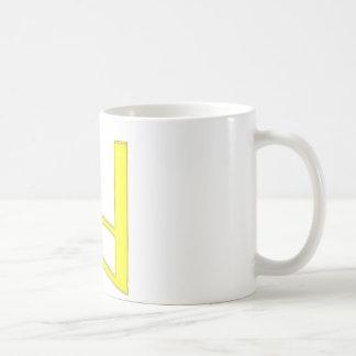 d Lowercase American Letter Basic White Mug