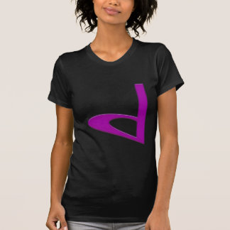 d Lowercase American Letter T Shirts