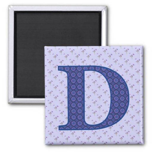 D FRIDGE MAGNET