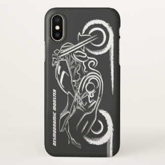 D Monster Lover iPhone X Case
