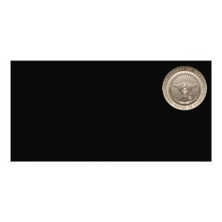 D O D Government Emblem Photo Card Template