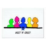 D.O.L.L. Meeting Personalized Invitations