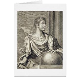 D. Octavius Augustus (63 BC - 14 AD) Emperor of Ro Card
