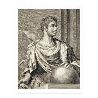 D. Octavius Augustus (63 BC - 14 AD) Emperor of Ro Postcard