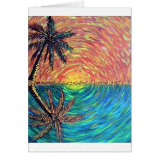 D' Palms Greeting Card