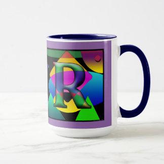 D & R Monogram Cofee mug