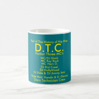 D.T.C. White 11 oz Classic White Mug