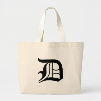 D-text Old English Large Tote Bag