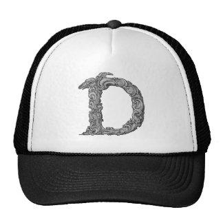 D - The Falck Alphabet Silvery Hat