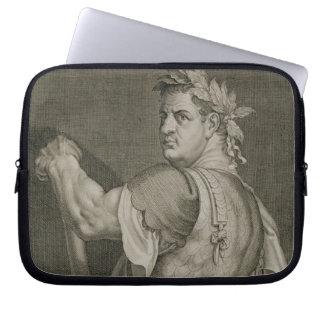 D. Titus Vespasian Emperor of Rome 79-81 AD engrav Laptop Computer Sleeves