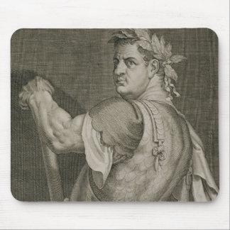D. Titus Vespasian Emperor of Rome 79-81 AD engrav Mouse Pad