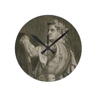 D. Titus Vespasian Emperor of Rome 79-81 AD engrav Wallclock