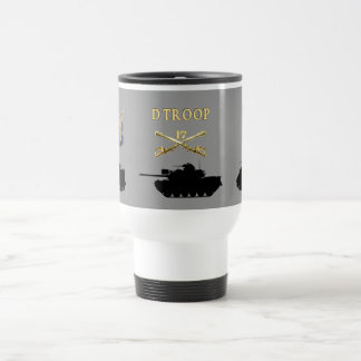 D Troop 17th Cavalry AFVs Mug