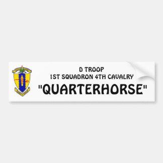 D-Troop bumper sticker