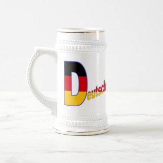 D wie Deutschland Mug