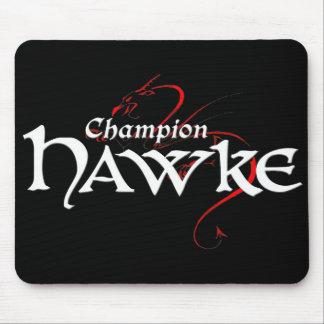DA2 - Champ HAWKE - mousepad dark