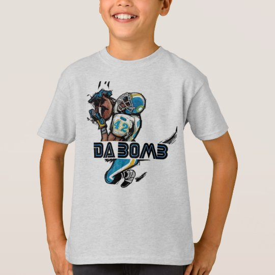 Da-Bomb - Kids (Football) T Shirt