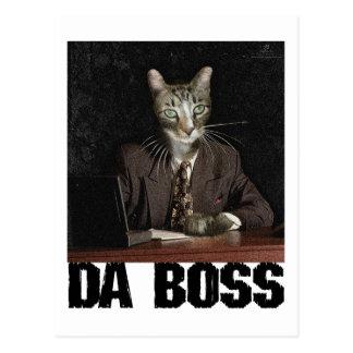 Da Boss Postcard