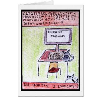 DA CatToon 4 - Cat Hackers Card