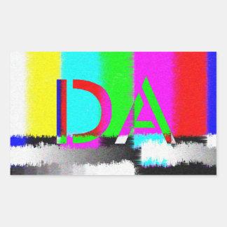 DA Colour Difference Static Sticker
