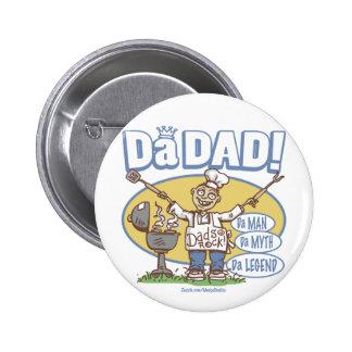 Da_dad_zazzle 6 Cm Round Badge