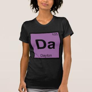 Da - Dayton Ohio Chemistry Periodic Table Symbol T-Shirt