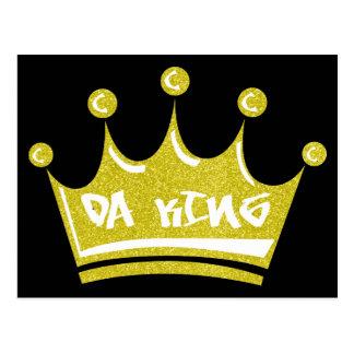 Da King Postcard