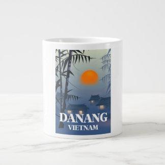 Da Nang Vietnam Travel poster Large Coffee Mug
