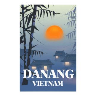 Da Nang Vietnam Travel poster Stationery Paper
