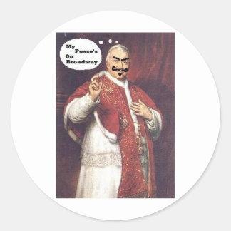 Da Pope Stickers