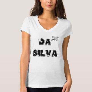 DA SILVA Women's Karen T-Shirt, White T-Shirt