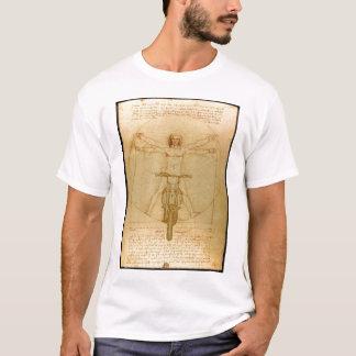 Da Vinci Dirt Bike Motocross Supercross Freestyle  T-Shirt