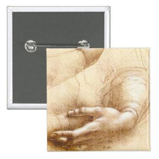 Da Vinci Hands Button