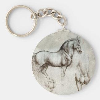 Da Vinci Horse Key Chain