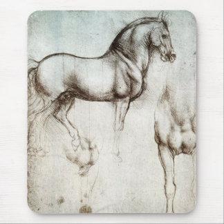 Da Vinci Horse Mouse Pad