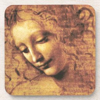 Da Vinci La Scapigliata Coasters