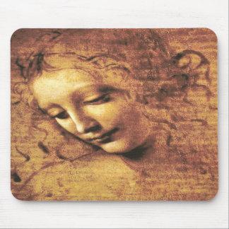 Da Vinci La Scapigliata Mouse Pad