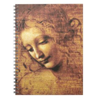 Da Vinci La Scapigliata Notebook