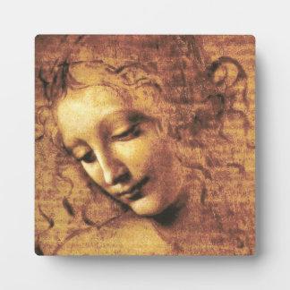 Da Vinci La Scapigliata Plaque
