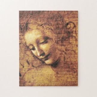 Da Vinci La Scapigliata Puzzle