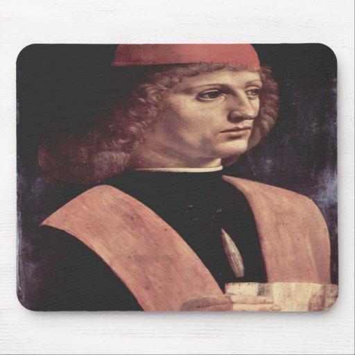 Da Vinci, Leonardo - Portrait of a Music Mouse Pad