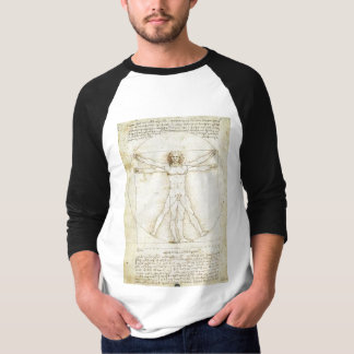 da-vinci-leonardo-proportions-of-the-human-figure T-Shirt