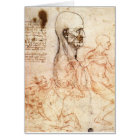 da Vinci -- Man and Horse Sketch Card