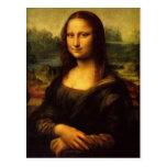 Da Vinci - Mona Lisa Postcard
